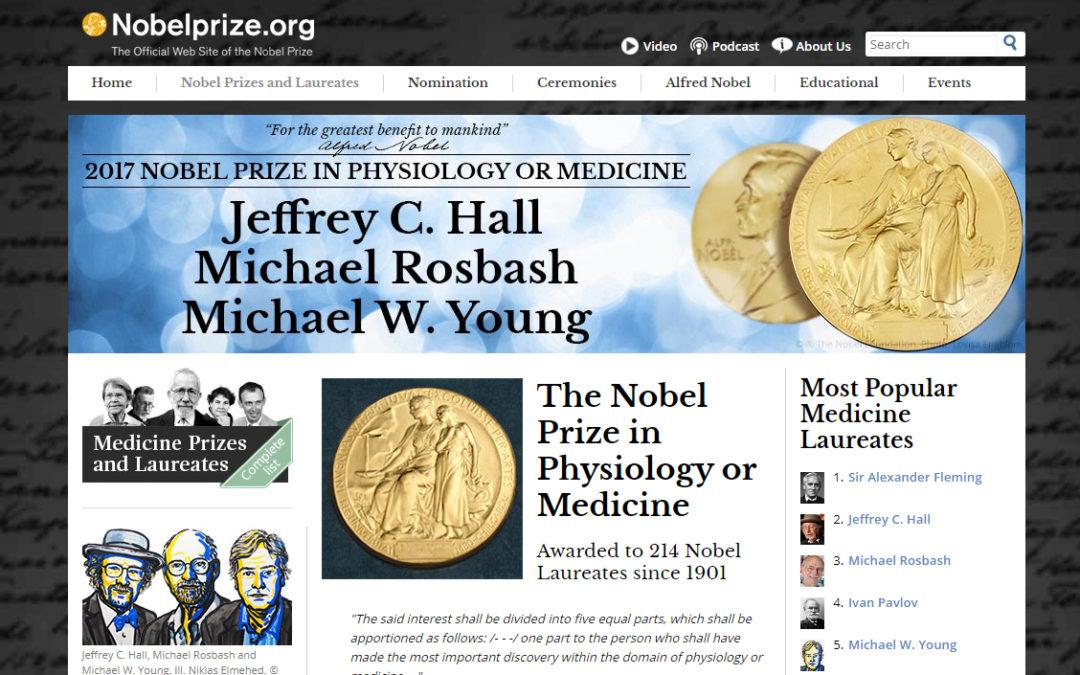 Årets nobelpris i fysiologi eller medicin