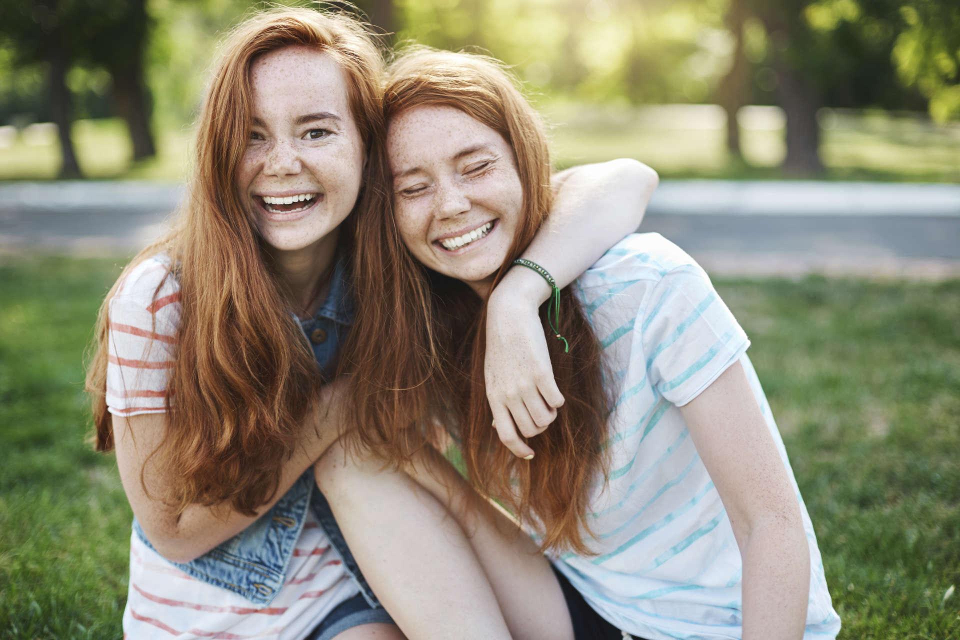 Tvillingsystrar Epigenetik Bioresurs Arv och miljö Fascinerande forskning
