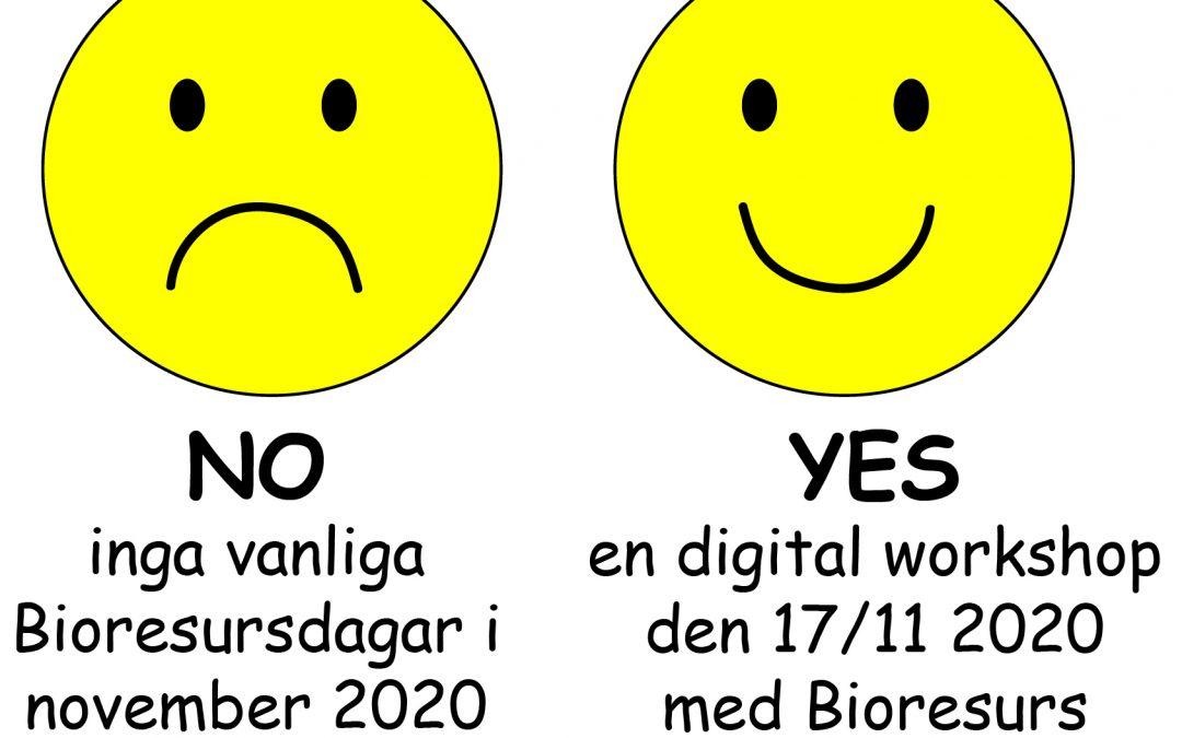 Välkommen till en digital workshop med Bioresurs på temat laborationer i undervisningen